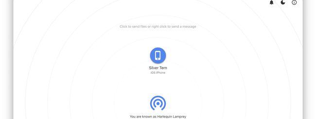 SnapDrop porta AirDrop anche su Android e Windows