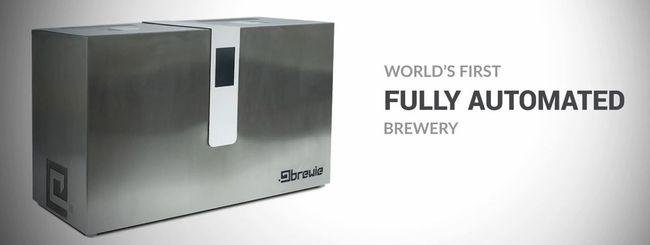 Brewie, la brewing machine per la birra 2.0