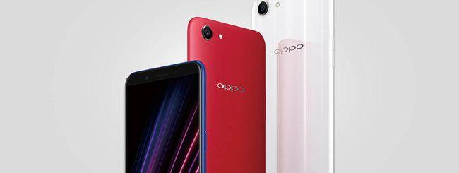 Oppo A1, nuovo smartphone con schermo 18:9