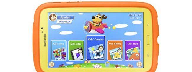 Galaxy Tab 3 Kids, il tablet Samsung per bambini