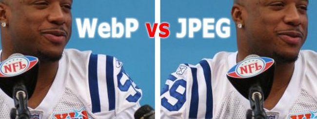 WebP, la sfida Google al JPEG