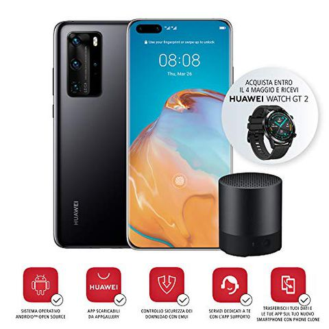 Huawei P40 Pro Smartphone e Bluetooth Speaker