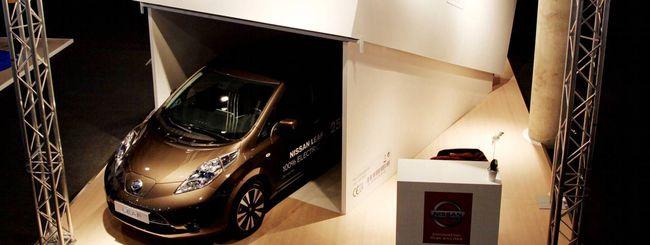 MWC 2016: l'unboxing della nuova Nissan Leaf