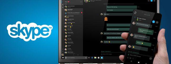 Skype Preview per Windows 10 invia SMS dal PC