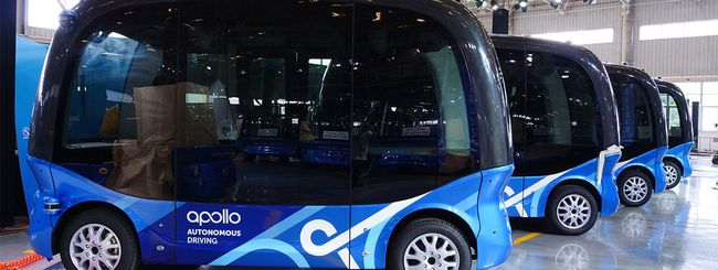 Baidu porta i minibus a guida autonoma in Giappone