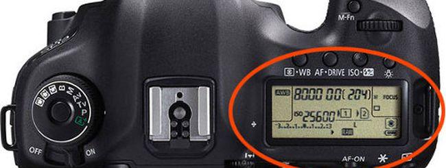 Canon EOS 5D Mark III, problemi in ambienti molto bui