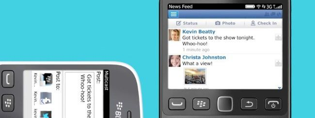 Annunciato BlackBerry 9720 con BlackBerry OS 7.1