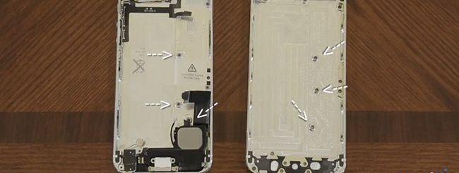 iPhone 5S oro e iPhone 5: scocche a confronto