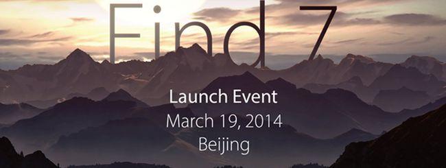 Oppo Find 7 arriva il 19 marzo, è ufficiale