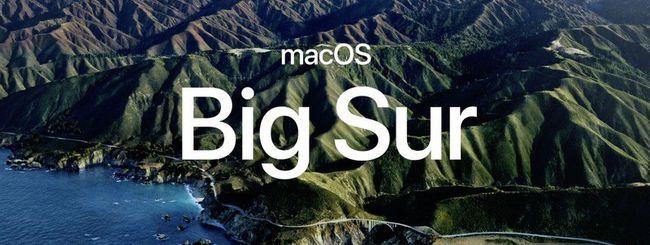 macOS Big Sur, i Mac compatibili