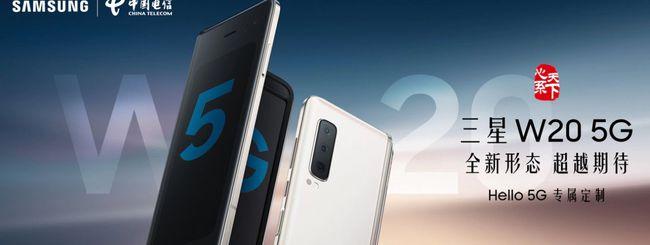 Samsung W20, un Galaxy Fold con modem 5G