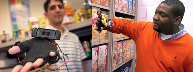 Uno smart glove aiuterà i non vedenti a fare spesa