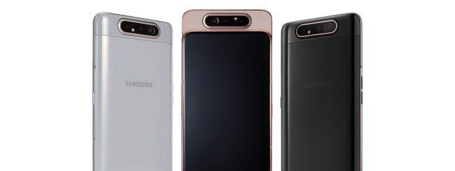 Samsung annuncia sei smartphone Galaxy A