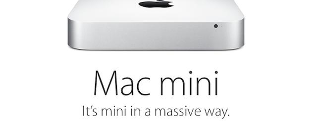 Mac mini aggiornato e prezzi ribassati