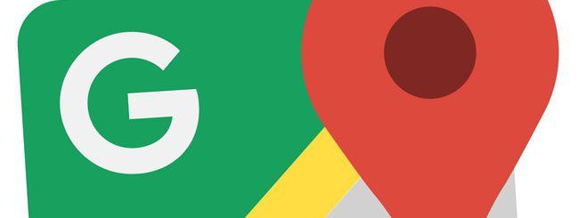 Google Maps: avvisi sul traffico nelle vicinanze