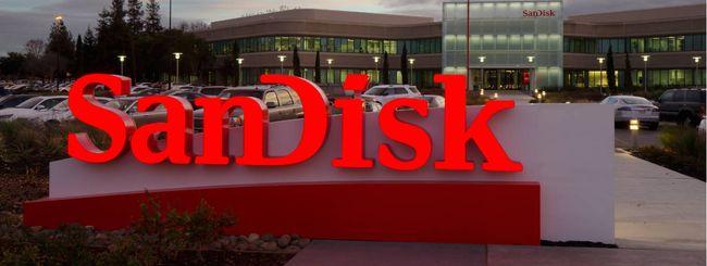 Western Digital fa sua SanDisk per 19 miliardi