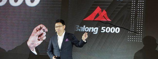 Huawei: a febbraio uno smartphone 5G e pieghevole