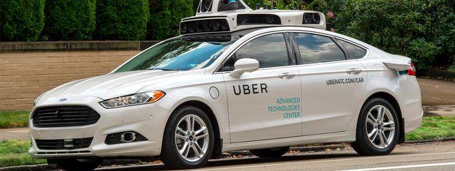 Stop alle self-driving car di Uber a San Francisco