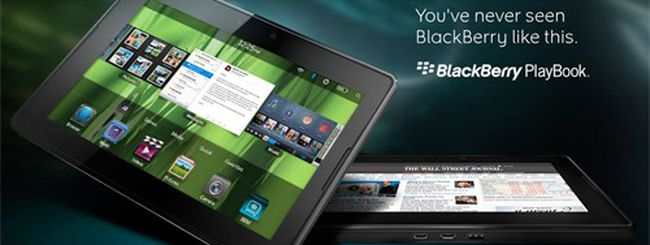BlackBerry PlayBook: anteprima dal CES 2011
