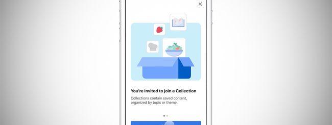 Facebook, le Raccolte si potranno condividere