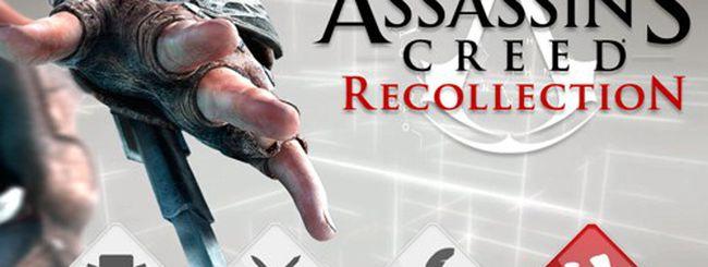 Assassin's Creed Recollection da oggi anche su iPhone