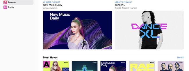 Apple Music, ora disponibile anche via browser