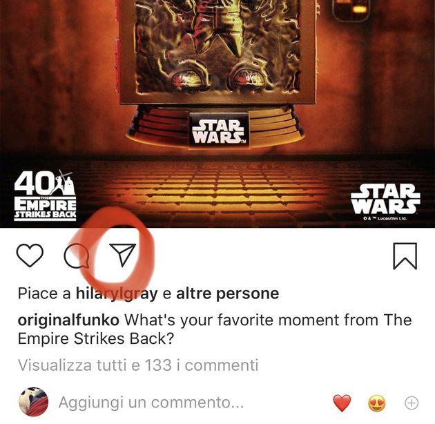 instagram condividi post
