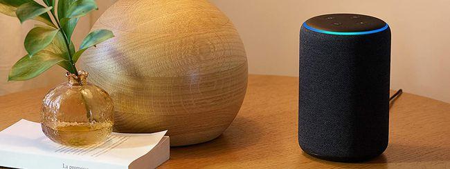 Amazon Echo ad un prezzo mai visto: 50% di sconto