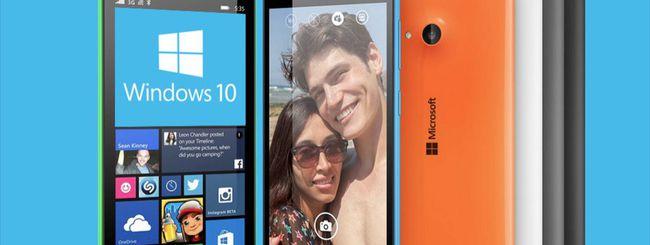Windows 10 per smartphone entro la settimana?