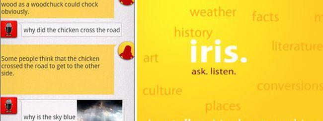 Iris, l'alternativa gratuita a Siri per Android