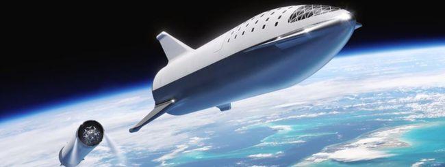 SpaceX, Elon Musk mostra costruzione di Starship