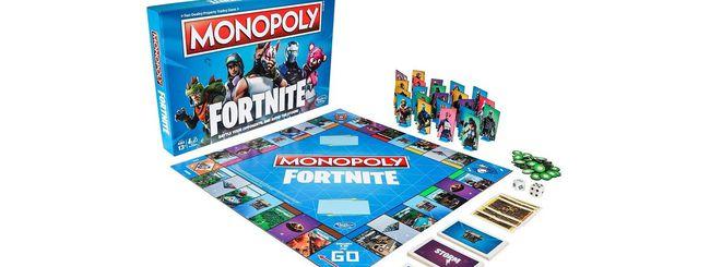 Fortnite sul tavolo: arriva il Monopoly ufficiale