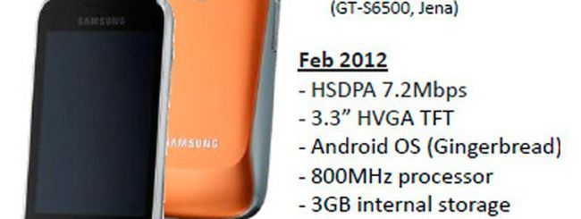Samsung Galaxy mini 2, prime informazioni