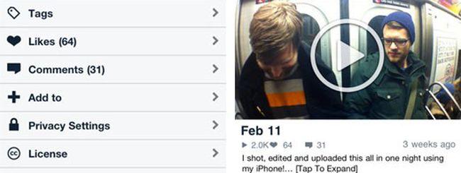 Vimeo sbarca su iOS con la prima app ufficiale