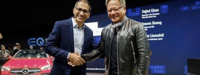CES 2019, Mercedes e NVIDIA per la guida autonoma