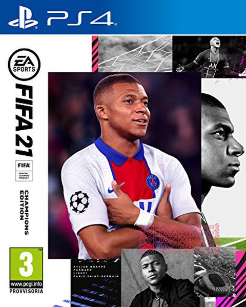 FIFA 21 PlayStation 4 Champions Ed., include upgrade per PS5