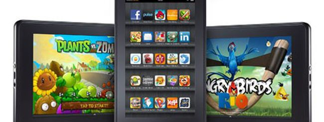 Kindle Fire, update software entro due settimane