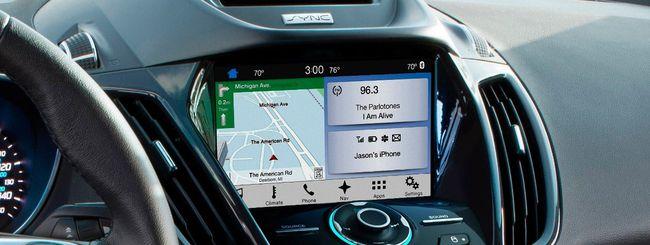 Ford Sync 3 su Escape e Fiesta in estate