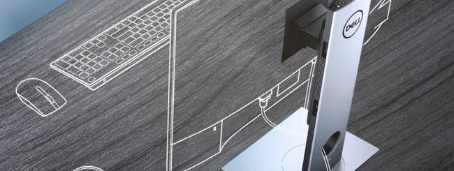 Dell presenta il PC modulare a ingombro zero