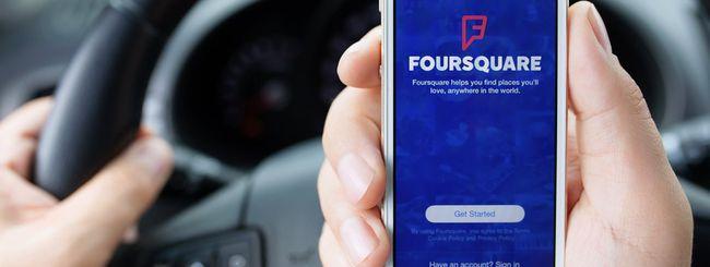 Foursquare Marsbot, suggerimenti precognitivi