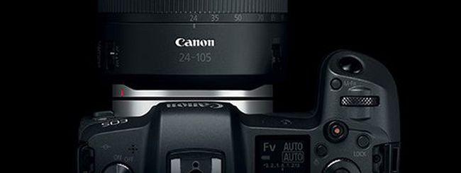 Canon: arriverà una RF di livello professionale e non solo