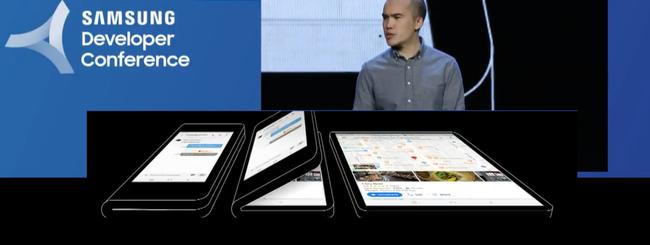 Samsung presenta il display flessibile