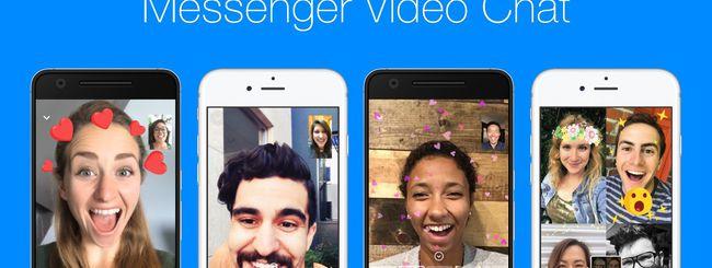 Messenger, più divertimento nelle video chat