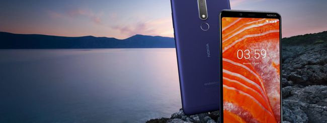 Nokia 3.1 Plus, schermo da 6 pollici e Android One