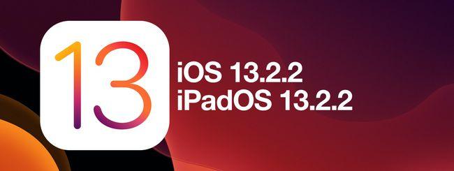 iOS 13.2.2 risolve il bug della chiusura app in background