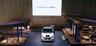 Nissan, la casa si alimenta con l'auto elettrica