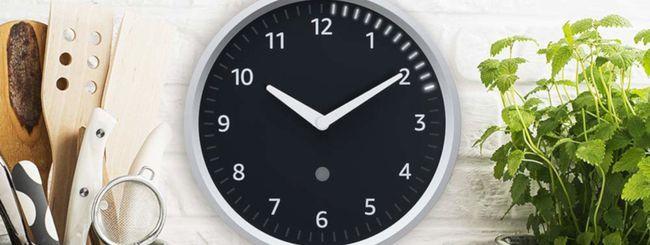 Echo Wall Clock con Alexa arriva su Amazon.it
