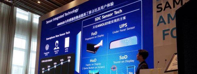 Samsung Galaxy A10, lettore di impronte FoD?