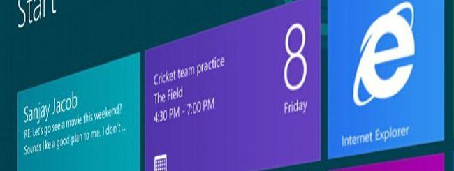 Windows 8, l'interfaccia Metro cambia nome