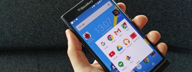 BlackBerry annuncerà altri due smartphone Android